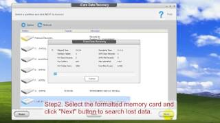 Memory card format recovery recover data after formatting by mistake