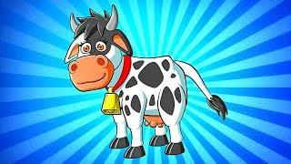 La Vaca Lola | Y Muchas mas Canciones Infantiles | 30 min de Lunacreciente