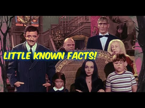 The ADDAMS Family--Facts You Probably DID NOT Know about the Show!