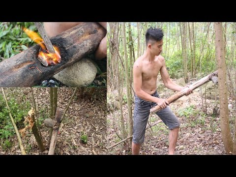 Primitive Technology: Make Stone Axe