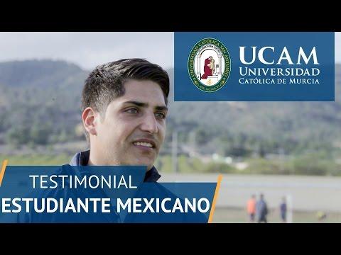 Estudiante mexicano en espa a ucam universidad cat lica for Estudiar interiorismo murcia