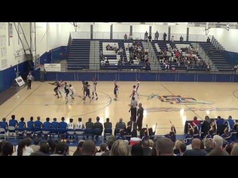 San Dimas Basketball v. San Gabriel Academy 2-19-16