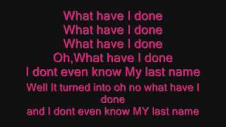 Carrie Underwood-Last Name Lyrics
