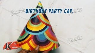 DIY How to make Party Cap | JK Arts 166