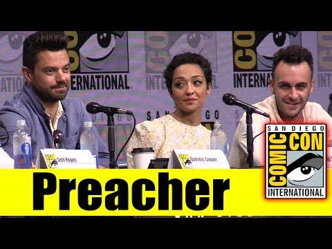 AMC's PREACHER | Comic Con 2017 Full Panel - Season 2 News & Highlights (Dominic Cooper, Ruth Negga)