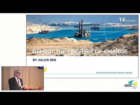 "Julius Senn: ""The larger forces behind the drivers of change"" (Dredging)"