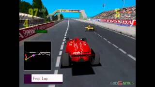 Newman Haas Racing - Gameplay PSX / PS1 / PS One / HD 720P (Epsxe)