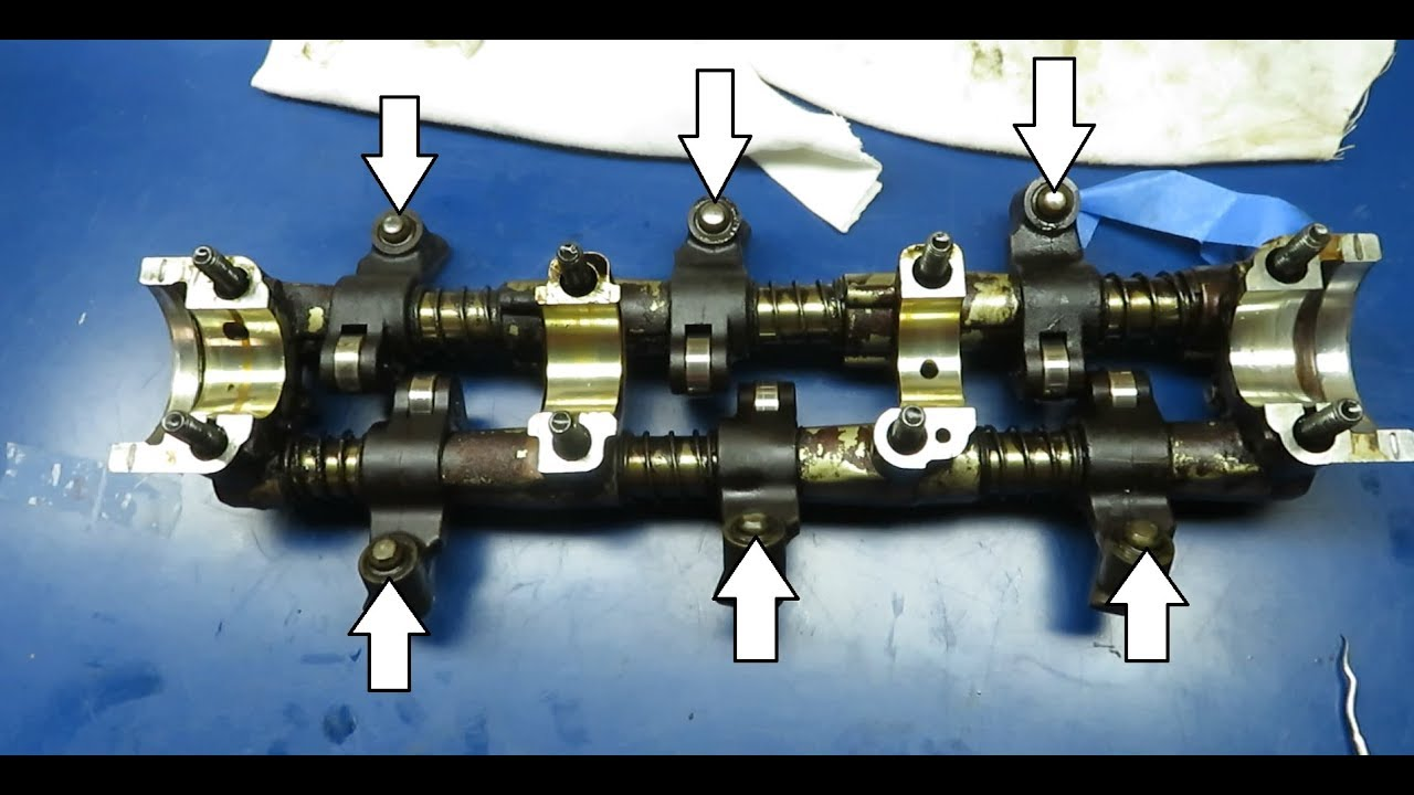Noisy Hydraulic Lifters How To Remove And Replace Caravan 3 0l