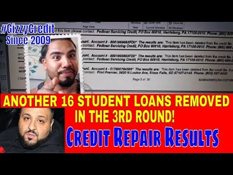 delete-federal-student-loan,-fedloan-servicing,-credit-repair-results-#gizzycredit