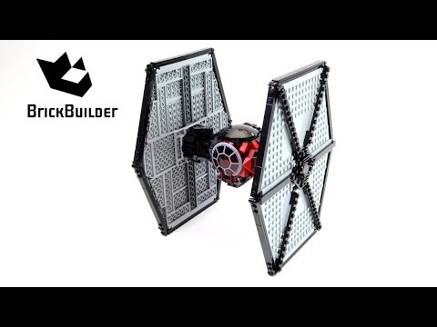 Lego Star Wars 75101 First Order Special Forces TIE Fighter - Lego Speed Build