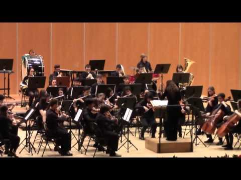 MARCHA RADETZKY  J  Strauss. ORQUESTA SINFONICA. Conservatorio musica de Oviedo
