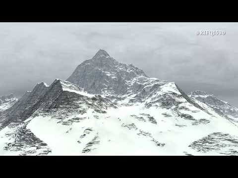 3D CGI MOUNTAIN   CINEMA 4D