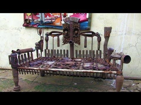 Mozambique Turns Its Guns Into Art