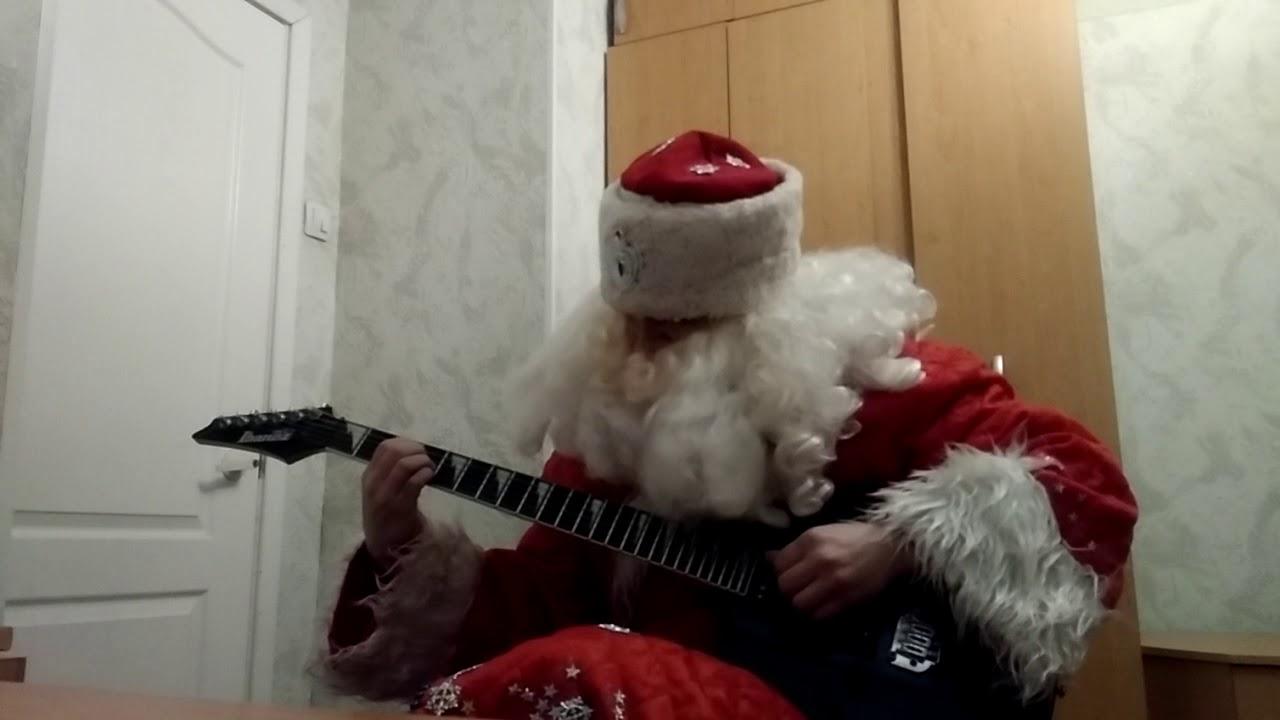 В лесу родилась елочка на гитаре - YouTube