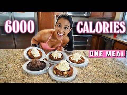 BJ's Restaurant Pizookie Challenge | GIRL VS FOOD |  6000 Calories in One Meal