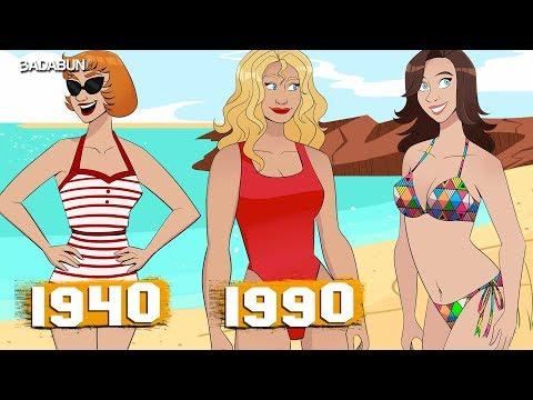 La bendita evolución del bikini. Que ya llegue el 2020