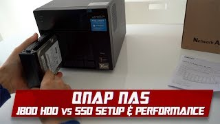 QNAP NAS for Beginners | HDD & SSD Install Guide