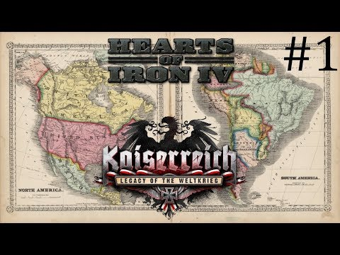 Hearts of Iron 4: Kaiserreich Colombia|Pacific States #1