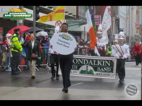 Clondalkin Youth Band from Dublin on International Band championship 2017