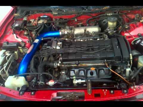 1994 Acura Integra engine knocking - YouTube