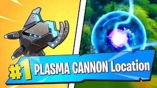 PLASMA CANNON LOCATION & GAMEPLAY (Fortnite)
