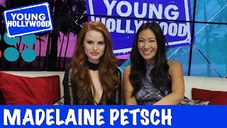 Why RIVERDALE Star Chooses to Live on a Deserted Island with Cole Sprouse Riverdale star Madelaine Petsch is chilling at the YH Studio where she weighs in on our nowlegendary challenge Riverdale Rapid Fire Find out which ...