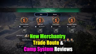 Black Desert Mobile New Merchantry Trade Route & Camp Reviews