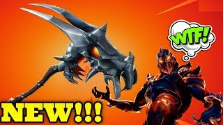"Fortnite - ""Demon Skull"" - Pickaxe & Fire Ruin Skin!!!! - NEW!!!"