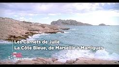 La côte bleue, de Marseille à Martigues - Les Carnets de Julie