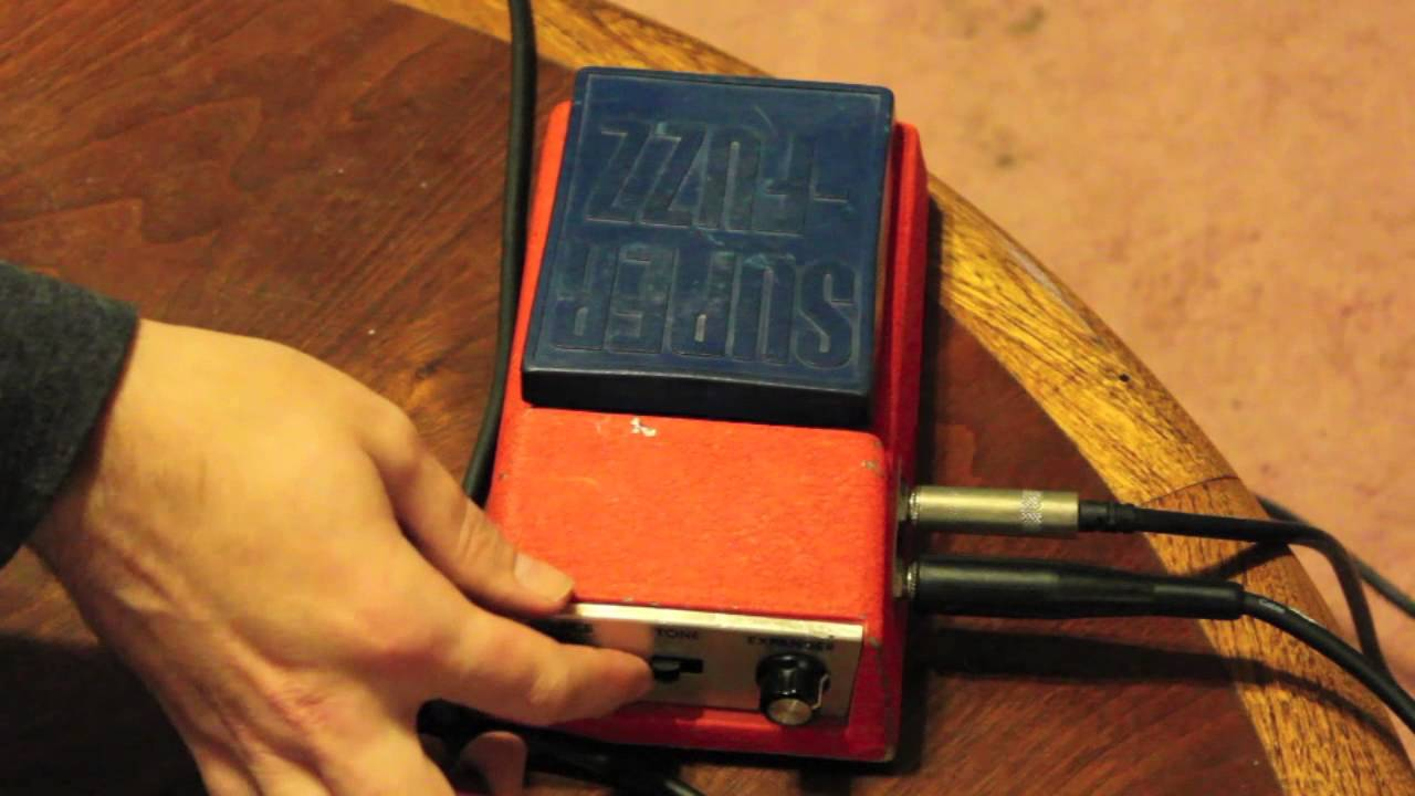 Vintage Early 70s Univox Super Fuzz Guitar Pedal Youtube