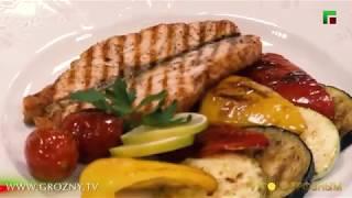 Приятного аппетита! Семга с овощами
