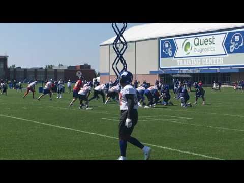 Inside look at Giants WR Odell Beckham Jr. in practice