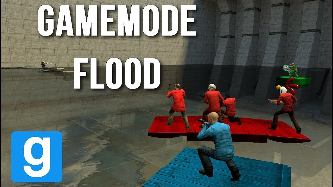 une belle bataille sur le gamemode flood garry 39 s mod. Black Bedroom Furniture Sets. Home Design Ideas