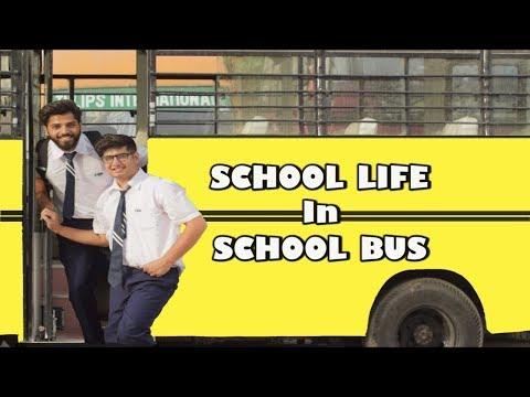 SCHOOL LIFE IN SCHOOL BUS | Types Of Students | Part 1 || JaiPuru