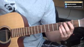 Howie Day - Longest Night - Guitar Tutorial
