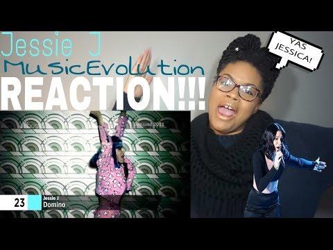Jessie J - Music Evolution // REACTION!!!