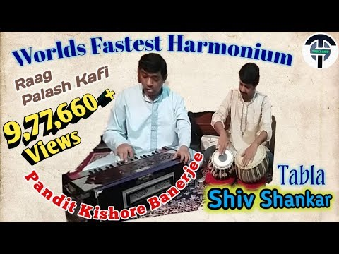 World's Fastest and Best Harmonium solo by Great M...