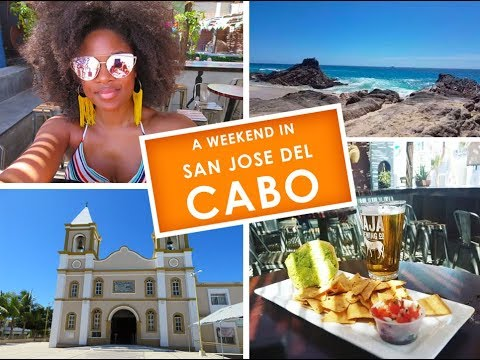 A Weekend in San Jose Del Cabo