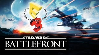 Star Wars Battlefront 3 SWBF 2014-2015 SPECIAL: E3 2014 Gameplay Trailer On June 9th Xbox One, PS4