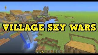 Minecraft Xbox - VILLAGE SKY WARS BUILDING