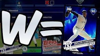 WIN FOR AROLDIS CHAPMAN! DIAMOND REWARD MLB THE SHOW 17 BATTLE ROYALE!