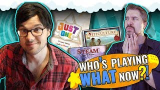 Who's Playing What Now?! + Top 10 Popular Board Games October 2019