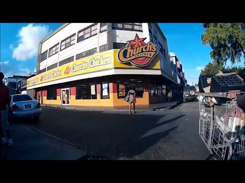 Cycling - Henry Street, Port of Spain, Trinidad