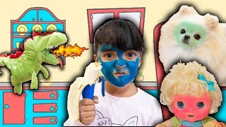 BIA LOBO / BABY ALIVE / Pretend Play With COLORS MAGIC BANANAS