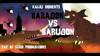 Baragon vs Barugon  KAIJU MOMENTS # 12