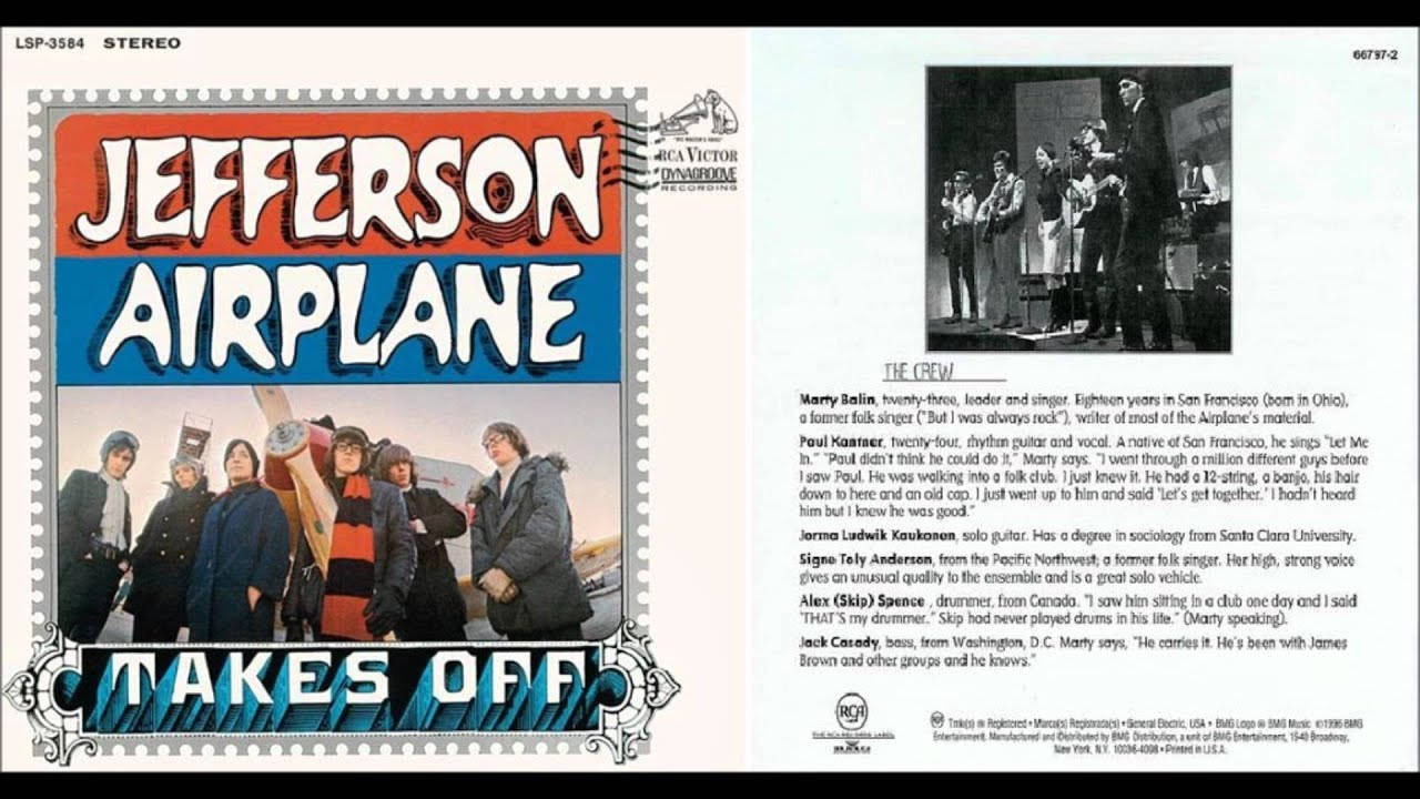 Jefferson Airplane Off The Record Specials With Mary Turner