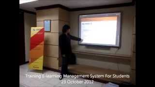 Sgu It Student Community Service Project: Elearning System For International Islamic School (iiss)