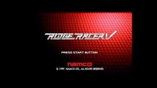 [PlayStation2] Ridge Racer V - Intro, Demo play (Daytime, Sunset, Night) / リッジレーサー V