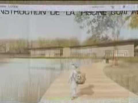 Construction de la piscine de s lestat 2009 youtube - Construction de piscine ...