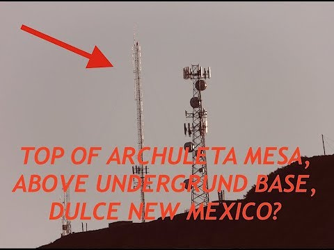 Dulce New Mexico, Underground Base, UFO, Archuleta Mesa, Looking For Aliens, Latest Footage